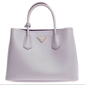 NWOT AUTH Prada Cuir Saffiano Leather Tote